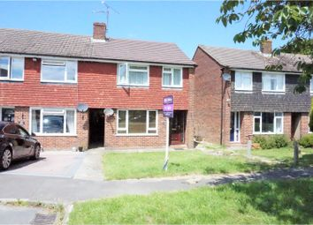 Thumbnail 3 bed end terrace house for sale in Laughton Road, Horsham