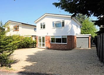 Thumbnail 4 bed detached house for sale in Silverthorne Drive, Caversham Heights