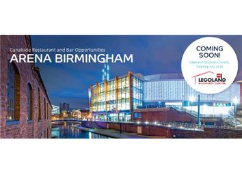 Thumbnail Restaurant/cafe to let in Units 1, 3B, 5, Arena Birmingham, Nia, Canal Side, King Edwards Road, Birmingham, West Midlands, UK