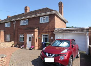 Thumbnail 3 bed semi-detached house for sale in Hillcrest Avenue, Yaxley, Peterborough