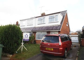 Thumbnail 3 bed semi-detached bungalow for sale in Derwen Las, Caernarfon, Gwynedd