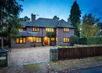 Thumbnail 6 bed detached house for sale in Hook Heath, Surrey