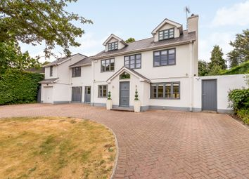 Thumbnail 5 bed detached house for sale in Hunting Close, Esher