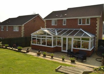 Thumbnail 4 bedroom detached house for sale in Gower Rise, Gowerton, Swansea