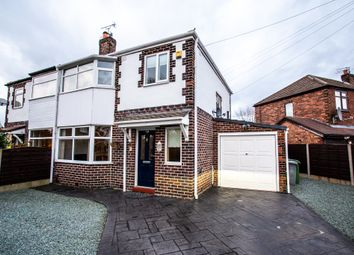 Thumbnail 3 bed semi-detached house for sale in Derwent Road, Urmston