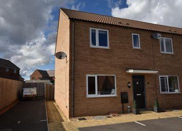 Thumbnail 3 bed end terrace house for sale in Ryeland Croft, Oakridge Park, Milton Keynes, Buckinghamshire