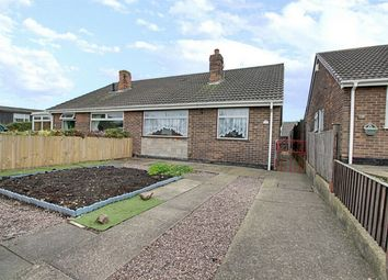 Thumbnail 2 bed semi-detached bungalow for sale in Walkers Close, Forest Town, Mansfield, Nottinghamshire