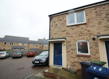 Thumbnail 2 bed end terrace house to rent in Ruston Close, Hartford, Huntingdon
