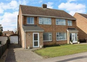 Thumbnail 3 bed semi-detached house for sale in Castle Drive, Northborough, Market Deeping, Cambridgeshire