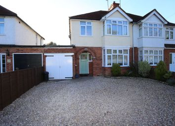 Thumbnail 4 bed semi-detached house to rent in Loddon Bridge Road, Woodley, Reading