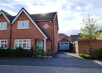 Thumbnail 3 bed semi-detached house to rent in Martinet Road, Woodley