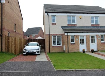 Thumbnail 3 bed semi-detached house for sale in 11, Paterson Walk, Motherwell, North Lanarkshire