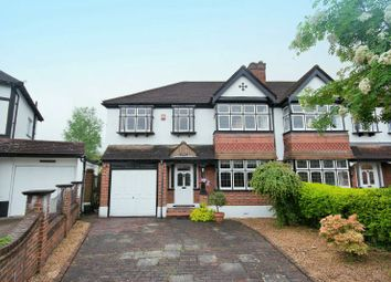 Thumbnail 5 bed semi-detached house for sale in Burwood Avenue, Pinner, Middlesex