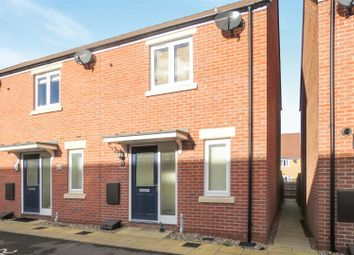 Thumbnail 2 bed end terrace house for sale in Whittle Drive, Biggleswade