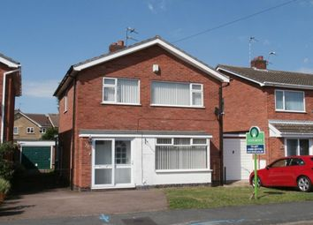 Thumbnail 3 bed detached house to rent in Loweswater Drive, Loughborough