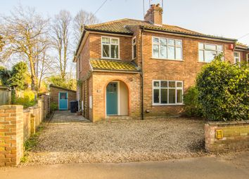 Thumbnail 3 bed semi-detached house for sale in Jessopp Road, Norwich