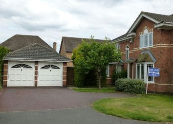 Thumbnail 4 bed detached house to rent in Poppy Leys, Brixworth, Northampton