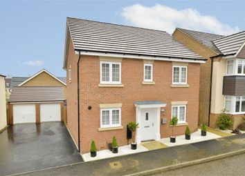 Thumbnail 4 bed detached house for sale in Pennine Way, Little Stanion, Corby, Northamptonshire