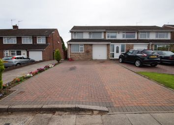 Thumbnail 3 bedroom end terrace house for sale in Alpine Rise, Stivechale, Coventry