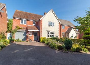 Thumbnail 4 bed detached house for sale in The Cains, Taverham, Norwich