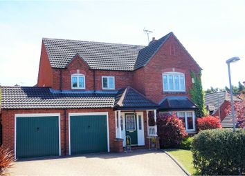 Thumbnail 5 bed detached house for sale in Chestnut Close, Mansfield