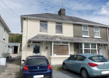 Thumbnail 3 bed semi-detached house for sale in Cae Gwyn Terrace, Drefach, Llanelli, Carmarthenshire.