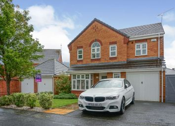 Thumbnail 4 bed detached house for sale in Bardley Drive, Coventry