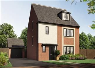 Thumbnail 4 bedroom detached house for sale in The Oak, College Mews, Hebburn