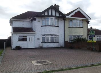 Thumbnail 3 bed semi-detached house for sale in Queensway, Allhallows, Rochester