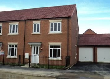 Thumbnail 3 bed end terrace house to rent in Sealand Way Kingsway, Quedgeley, Gloucester