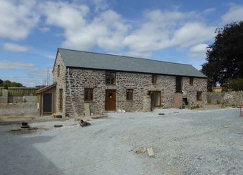 Thumbnail 3 bed barn conversion for sale in Chillaton, Lifton