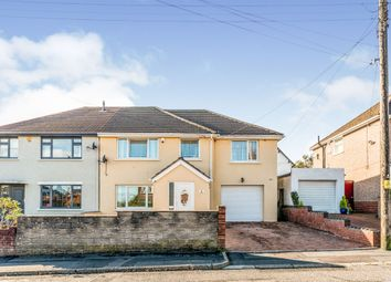 Thumbnail 4 bed semi-detached house for sale in Court Road, Caerphilly