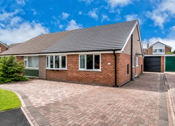Thumbnail 2 bed semi-detached bungalow for sale in Alton Grove, Cannock