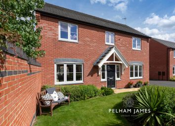 Thumbnail 4 bed detached house for sale in Edwards Way, Oakham