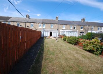 Thumbnail 2 bed terraced house for sale in Eleventh Row, Ashington