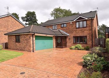 Thumbnail 4 bed detached house for sale in Sharon Park Close, Warrington, Cheshire