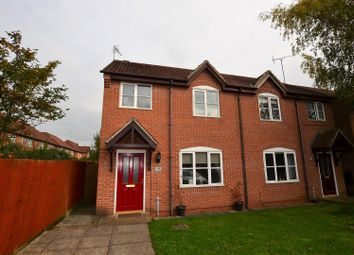 Thumbnail 3 bed semi-detached house for sale in Spinneybrook Way, Mickleover, Derby