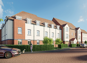 Thumbnail 2 bed flat for sale in Heathfield House Carpenters Close, Newbury