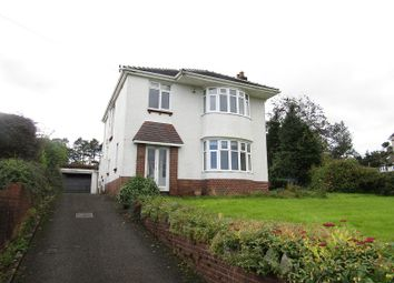 Thumbnail 3 bed detached house for sale in Clasemont Road, Morriston, Swansea, City And County Of Swansea.