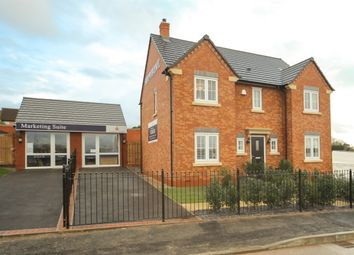 "Thumbnail 4 bed detached house for sale in ""The Highclere "" at Loughborough Road, Rothley, Leicester"