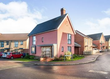 Thumbnail 3 bed link-detached house for sale in Short Drive, Upper Cambourne, Cambridge