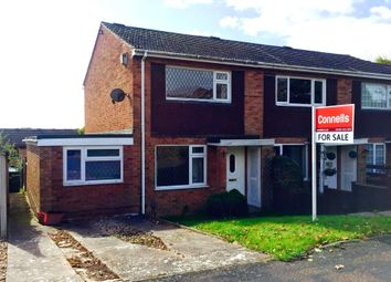 Thumbnail 3 bed end terrace house for sale in Crane Close, Warwick