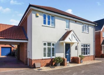 Thumbnail 4 bed detached house for sale in Forest Grove, Swaffham