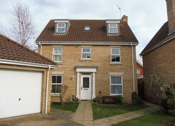 Thumbnail 6 bed detached house for sale in Monarch Way, Carlton Colville, Lowestoft