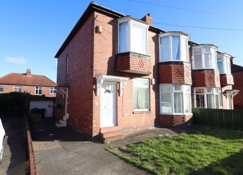 Thumbnail 3 bed flat for sale in Greywood Avenue, Newcastle Upon Tyne