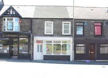 Thumbnail Retail premises to let in Gelligalled Road, Ystrad