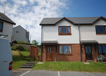 Thumbnail 2 bed end terrace house to rent in Glanhafan, Trefechan, Aberystwyth