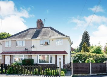 Thumbnail 3 bedroom semi-detached house for sale in Grangewood Road, Chesterfield