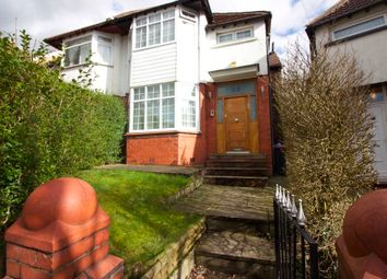 Thumbnail 3 bed semi-detached house for sale in Salisbury Drive, Prestwich, Manchester