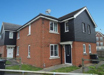 Thumbnail 2 bed semi-detached house for sale in Guillemot Close, Stowmarket